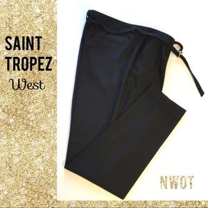 NWOT Saint Tropez Black Pants Saint Tropez West 10
